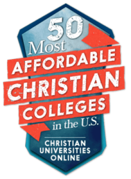 50 Most Affordable Christian Colleges Badge