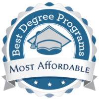 Best Degree Programs logo with graduation cap and banner.