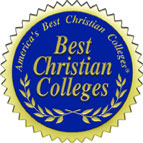 America's Best Christian Colleges Badge