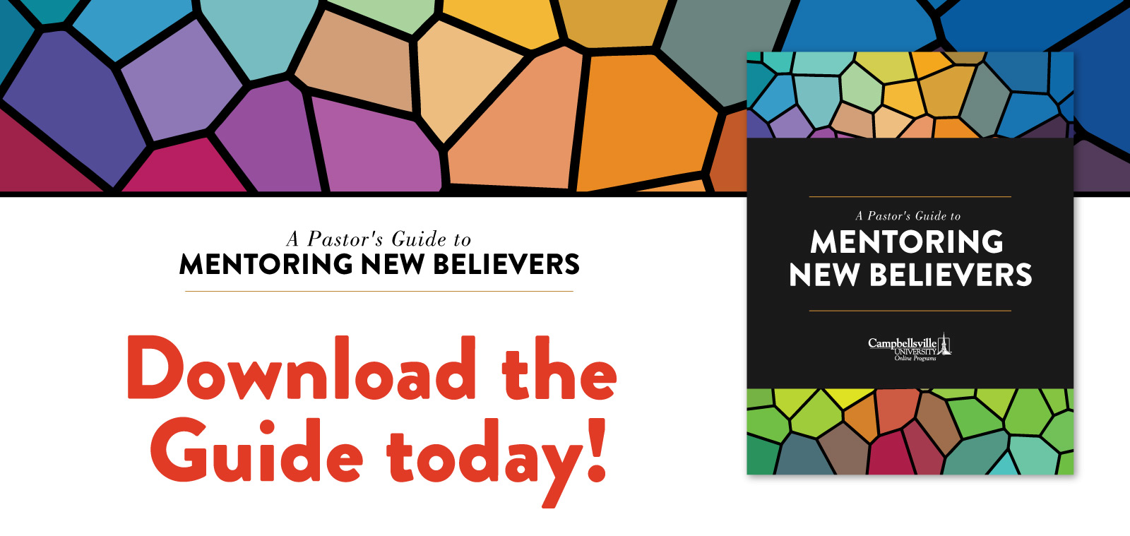 A Pastor's Guide to Mentoring New Believers - Download the Guide today!